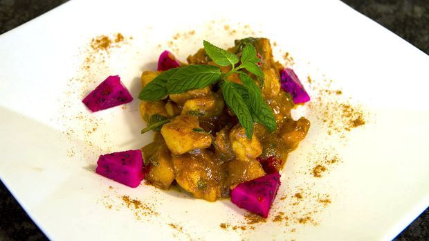 Curry-Zimt-Huhn