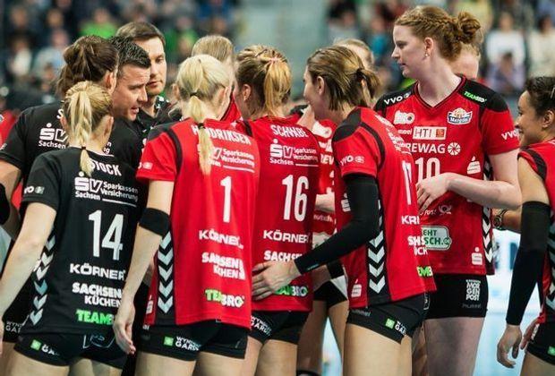 Der Dresdner SC verliert auch das zweite Gruppenspiel