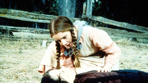 Laura (Melissa Gilbert, oben) kümmert sich um Jordan (Bonnie Scribner, unten)...