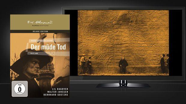 Der müde Tod - DVD und Szenenbild © Universum Film