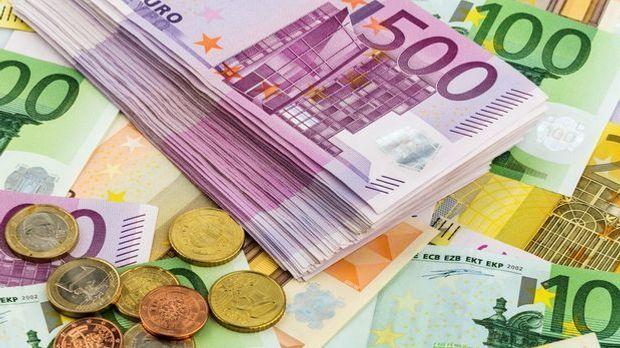 Euromünzen und -geldscheine