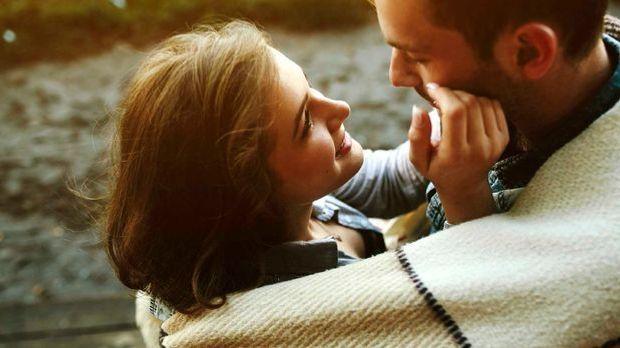 Verliebtes junges Paar