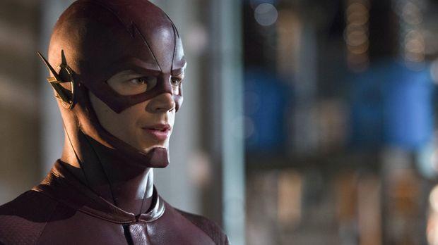 The Flash (Grant Gustin) nimmt es mit einem Übermenschen auf, der sich Elektr...