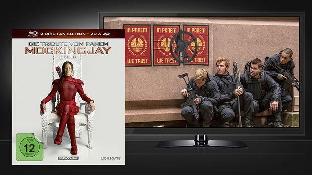 Mockingjay 2 - Blu-ray und Szene © STUDIOCANAL