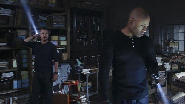 Ein neuer Fall wartet auf Sam (LL Cool J, r.) und Callen (Chris O'Donnell, l....
