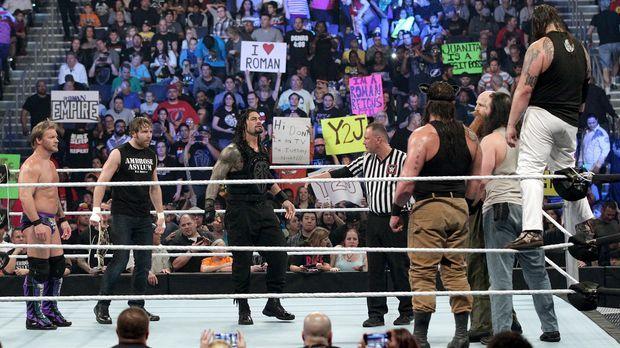 SmackDown vom 29. Januar © WWE