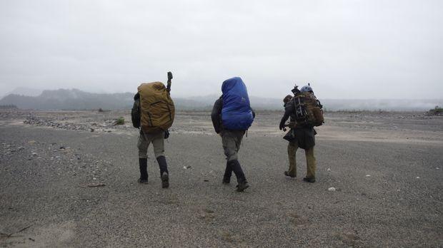 Die Strategie der Soldaten endet im Treibsand, während den Ausdauersportlern...