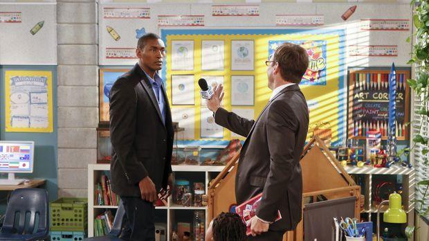 Nathan (Will Arnett, r.) bekommt das größte Interviewangebot seiner Karriere,...