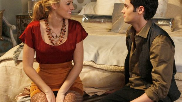 Dan (Penn Badgley, r.) rät Serena (Blake Lively, l.) ehrlich zu sein ... © Wa...