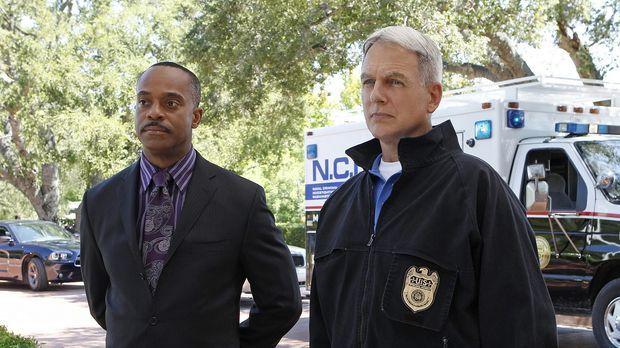 Ermitteln in einem neuen Fall: Vance (Rocky Carroll, l.) und Gibbs (Mark Harm...
