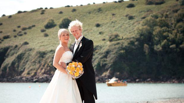 Während Harry das Meer liebt, hat Mel lieber festen Boden unter den Füßen. wi...