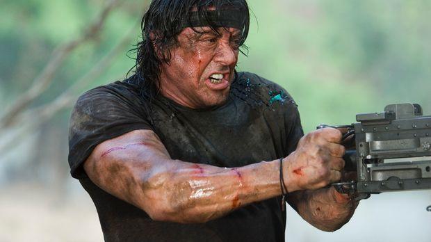 Immer auf der Seite der Guten: Rambo (Sylvester Stallone) ... © Karen Ballard...