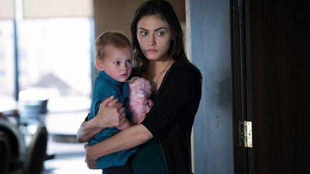 Die Familie Mikaelson trifft eine Entscheidung, die Hayleys (Phoebe Tonkin, r...