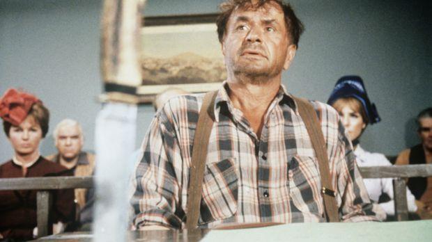 Der geistig zurückgebliebene Gelegenheitsarbeiter Johnny Mule (Noah Beery Jr....