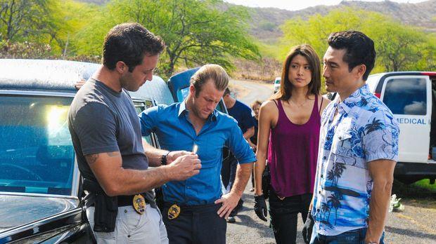 Ein neuer Fall wartet auf Steve (Alex O'Loughlin, l.),  Danny (Scott Caan, 2....
