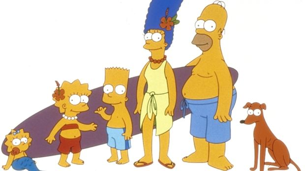 (11. Staffel) - Gemeinsam ist die Familie Simpson unschlagbar: Lisa (2.v.l.),...
