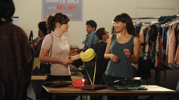 Noch sind Jess (Zooey Deschanel, l.) und Cece (Hannah Simone, r.) beste Freun...