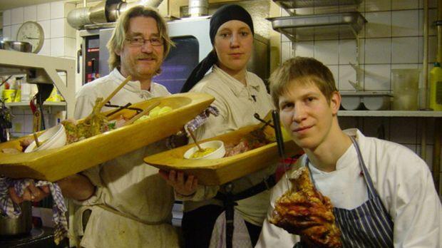 Fleisch satt - aber Messer und Gabel verboten! Richtig reinhauen mit allen ze...