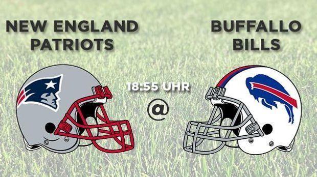 Spieltag 2 1855 Patriots at Bills