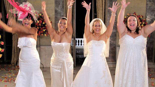 Welche Braut wird die traumhaften Luxus-Flitterwochen gewinnen? Jennifer (r.)...