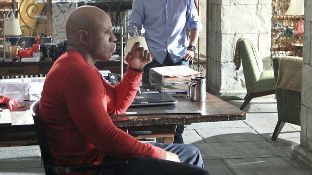Ein neuer Fall beschäftigt Callen (Chris O'Donnell, r.) und Sam (LL Cool J, l...