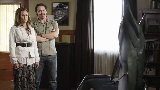 Ben (Charles Mesure, r.) hat ganz besondere Pläne für Renee (Vanessa Williams...