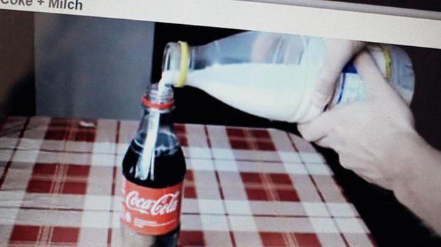 Cola plötzlich klar