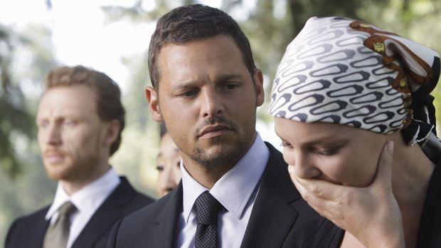 Alex (Justin Chambers, M.) macht sich große Sorgen um Izzie (Katherine Heigl,...