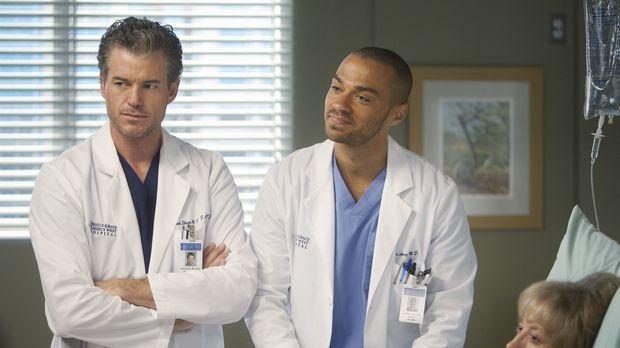 Während Owen und Cristina eine Paartherapie machen, versuchen Mark (Eric Dane...