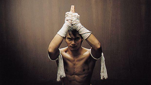 Mit der Hilfe von George hofft der in der überlieferten Kampfkunst Muay Thai...