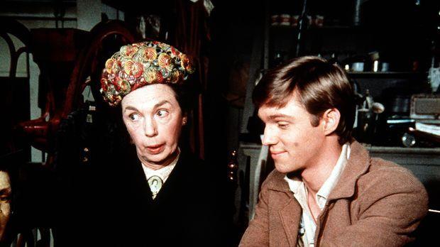 Im Laden von Ike Godsey trifft John Boy (Richard Thomas, r.) auf die Baldwin-...