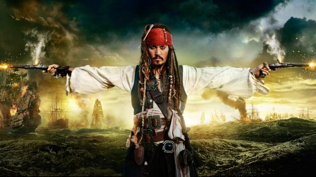 PIRATES OF THE CARIBBEAN - FREMDE GEZEITEN - Artwork © WALT DISNEY PICTURES/J...