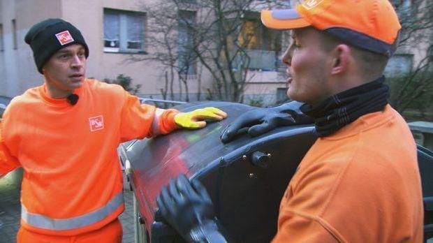 Harro macht mit Müllabfuhr