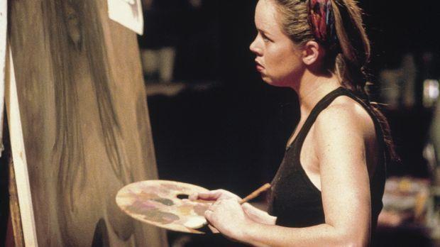 Claire Linkwood (Heather Donahue) versucht ihre Ängste bildlich darzustellen....