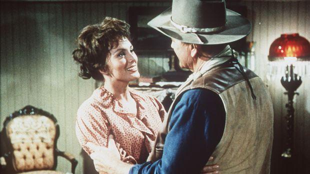 Der raubeinige Revolverheld Cole Thornton (John Wayne, r.) kehrt nach El Dora...
