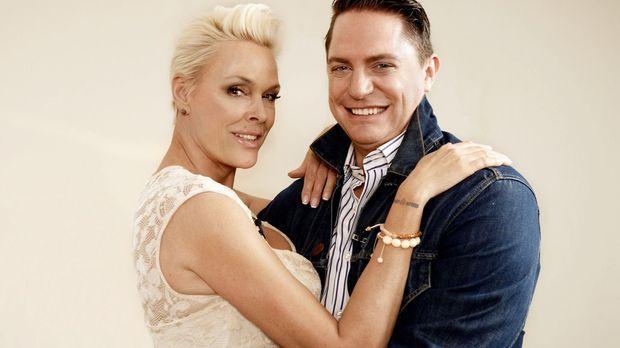 Diesmal haben sich Hollywood-Diva Brigitte Nielsen (l.) und ProSieben-red!-Re...