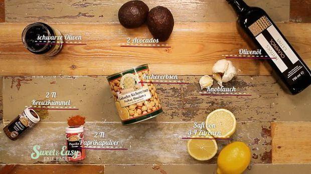 Herzhaft gefüllte Muffins: Das braucht ihr für den Hummus