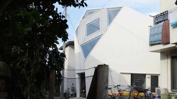Skurrile Häuser in Japan