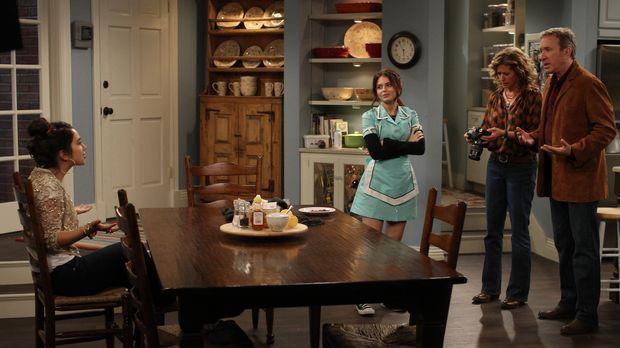 Mandy (Molly Ephraim, l.) möchte bei der Casting-Show