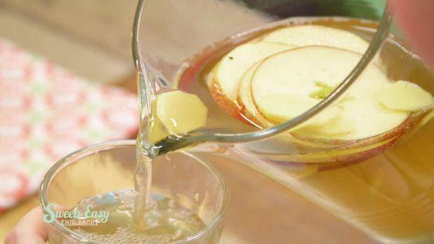 Apfel-Ginger Ale