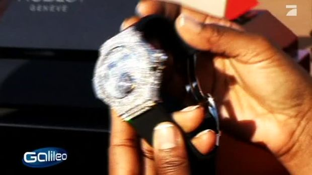 galileo video die teuerste armbanduhr der welt prosieben. Black Bedroom Furniture Sets. Home Design Ideas