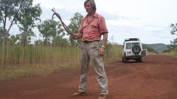 Austin Stevens reist in den Norden Australiens, um dort die wunderschöne Land...