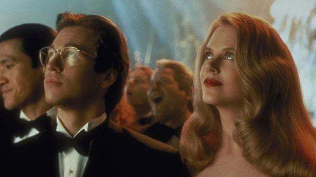 Die Psychologin Dr. Chase Meridian (Nicole Kidman, r.) ahnt nicht, dass der M...