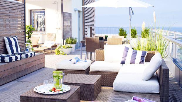 dachterrasse gestalten sat 1 ratgeber. Black Bedroom Furniture Sets. Home Design Ideas