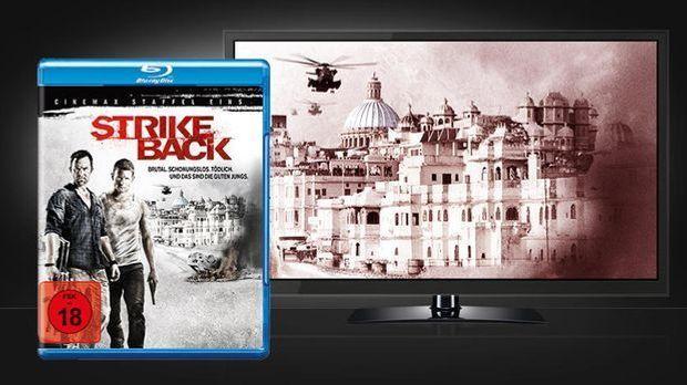 Strike Back - Szene und Blu-ray Cover
