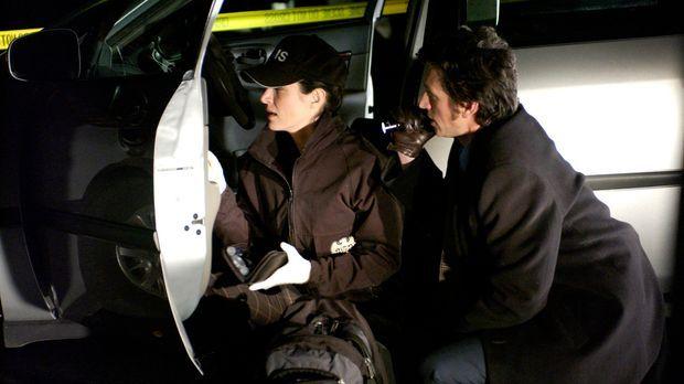 Bei der Klärung eines neuen Falles erhalten die Gibbs, Kate (Sasha Alexander,...