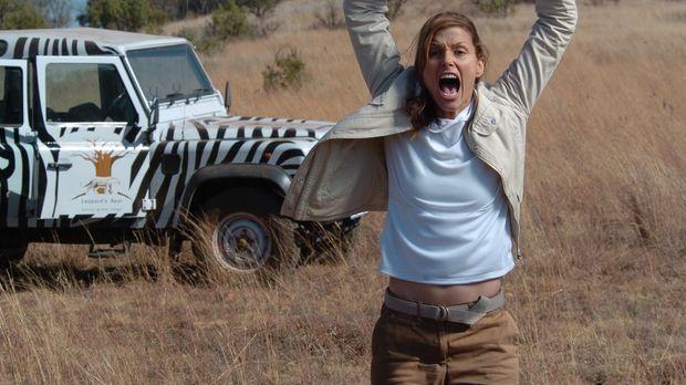 Im Visier überaus hungriger Löwen: Amy (Bridget Moynahan) ...
