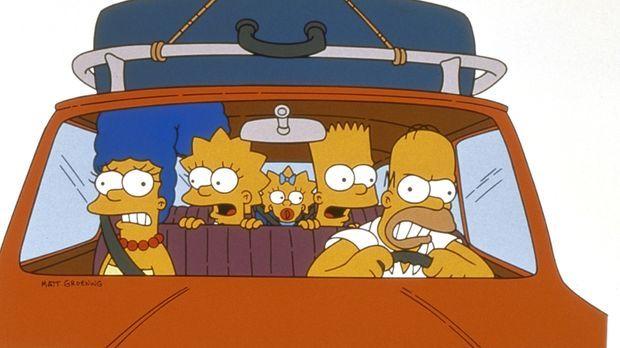 (9. Staffel) - Familie Simpson macht einen kleinen, aufregenden Ausflug mit d...