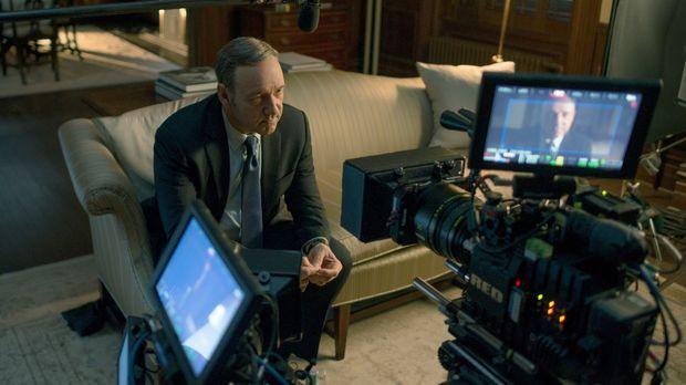 Muss Frank (Kevin Spacey) plötzlich ganz alleine kämpfen? © 2014 MRC II Distr...