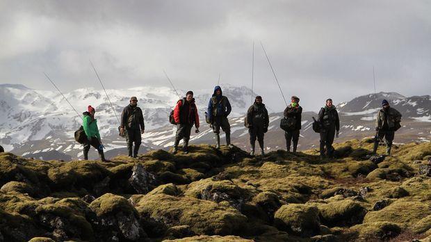 Ein Angelwettkampf rund um die Welt: Acht Angler brechen auf, um sich in den...